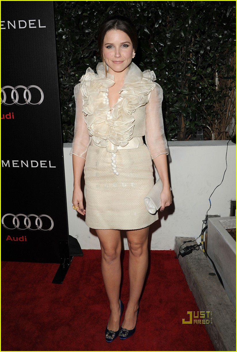 sophia bush audi jmendel party 10