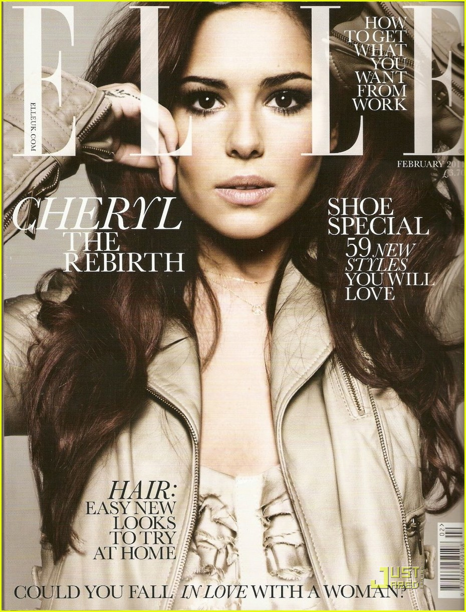 Elle Magazine France February March: Cheryl Cole Covers 'Elle UK' February 2011: Photo 2507435