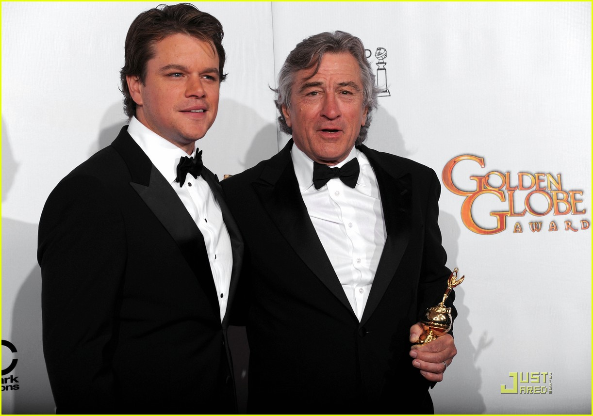 matt damon robert de niro golden globes 11