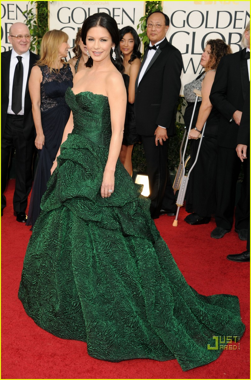 michael douglas catherine zeta jones golden globes 2011 02