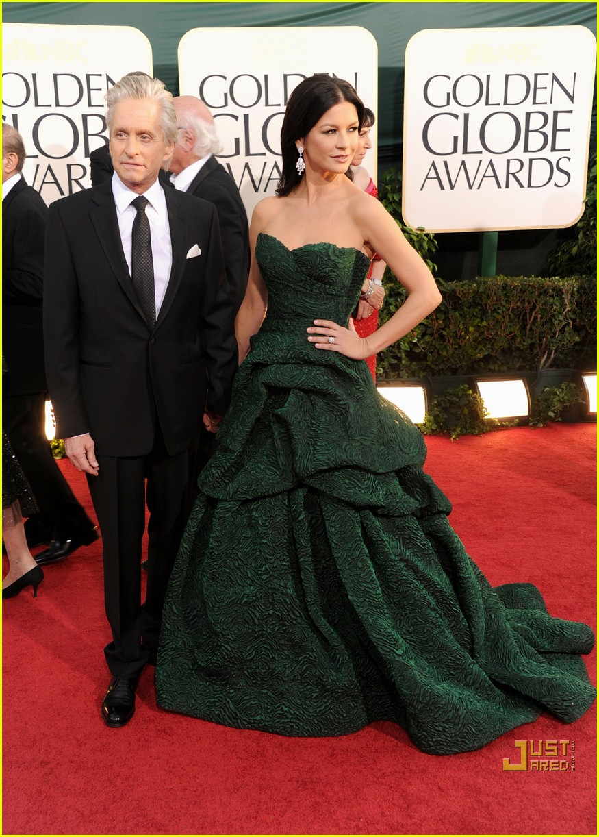 michael douglas catherine zeta jones golden globes 2011 08