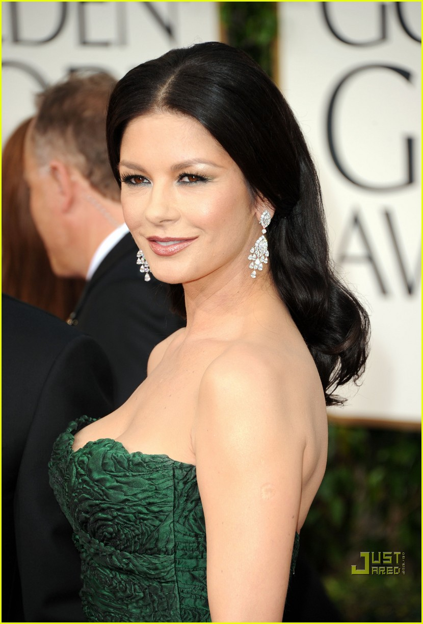 michael douglas catherine zeta jones golden globes 2011 18
