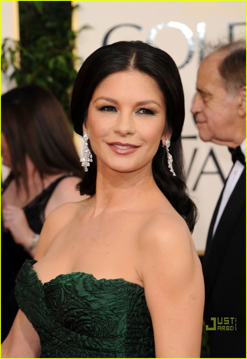 michael douglas catherine zeta jones golden globes 2011 24