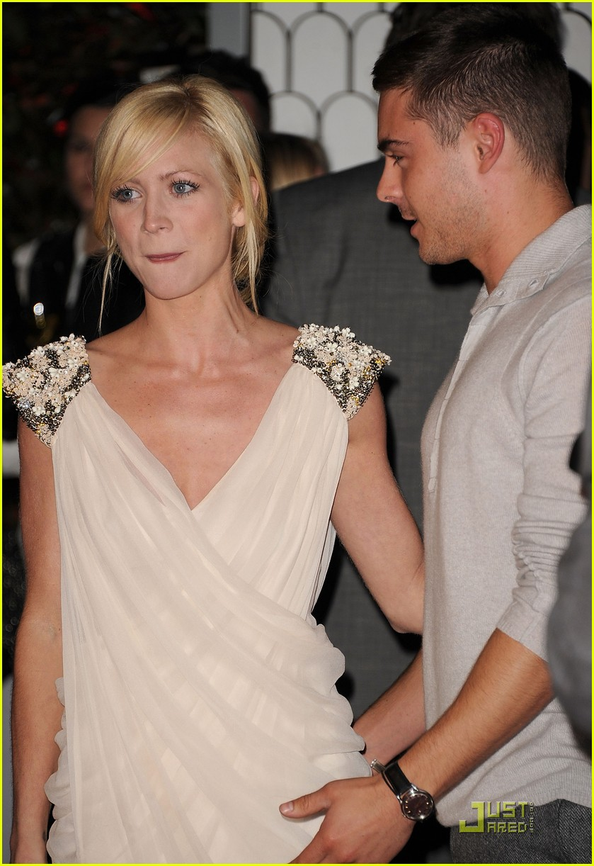 zac efron brittany snow audi golden globe party 10