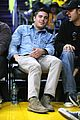 zac efron lakers game george lopez 03