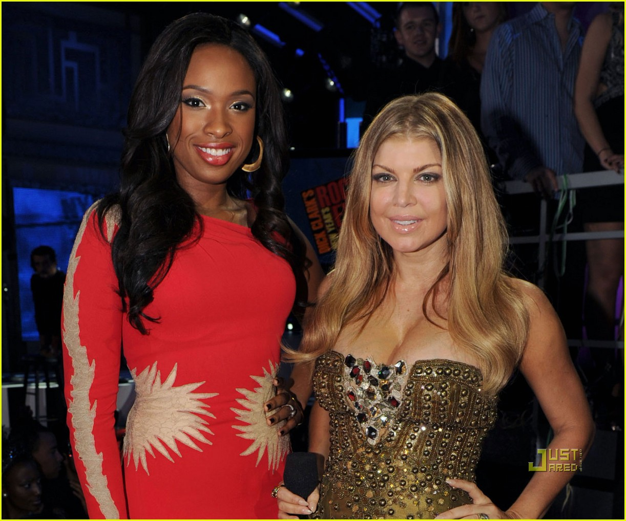 fergie jennifer hudson new years 06