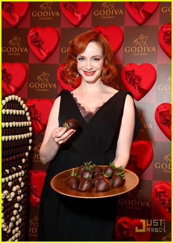 christina hendricks godiva pop up 03