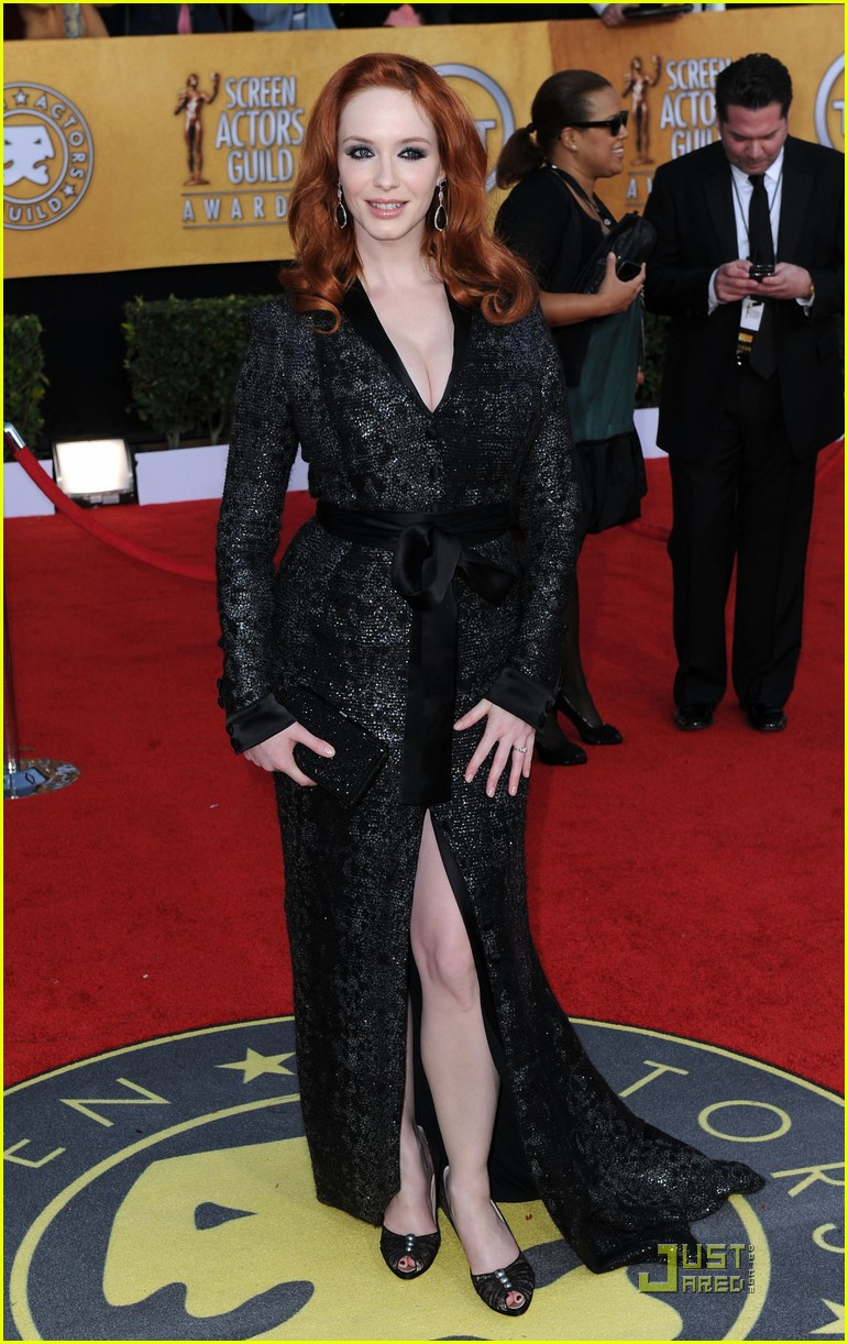 christina hendricks 2011 sag awards 02
