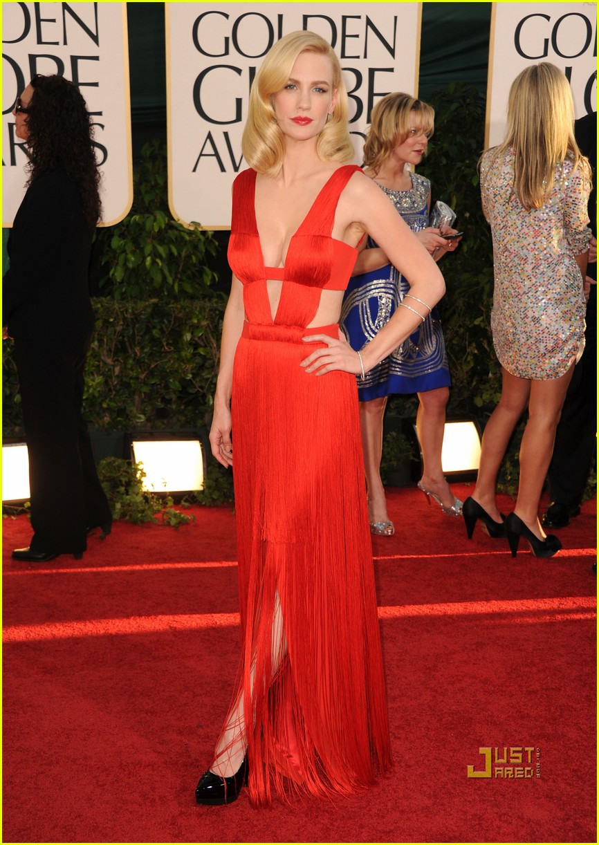 january jones 2011 golden globes 05