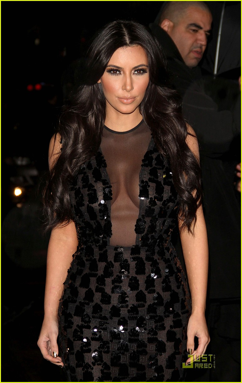 kim kardashian letterman 12
