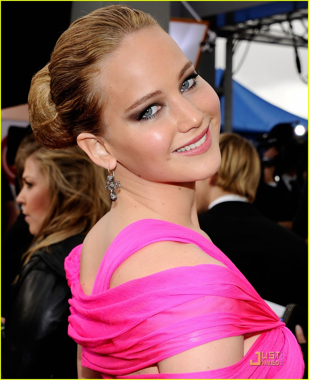 jennifer lawrence sag awards 2011 02