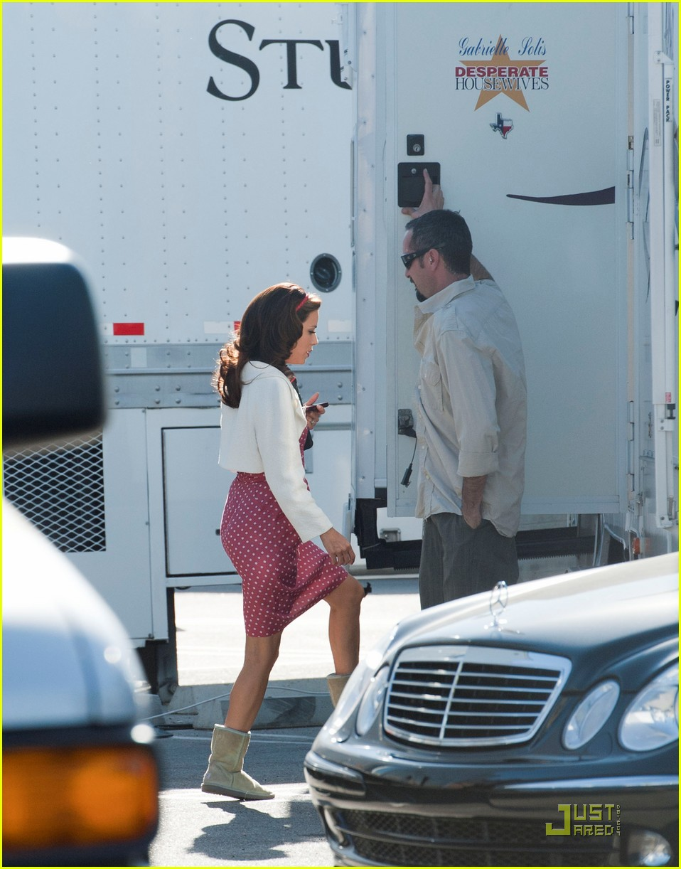 eva longoria desperate housewives filming 08