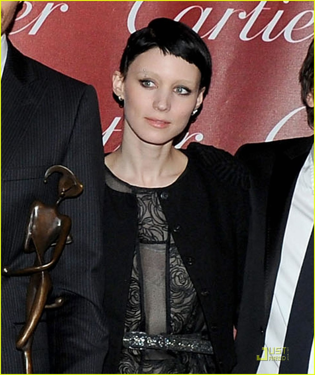 rooney mara lisbeth salander in palm springs 052509884