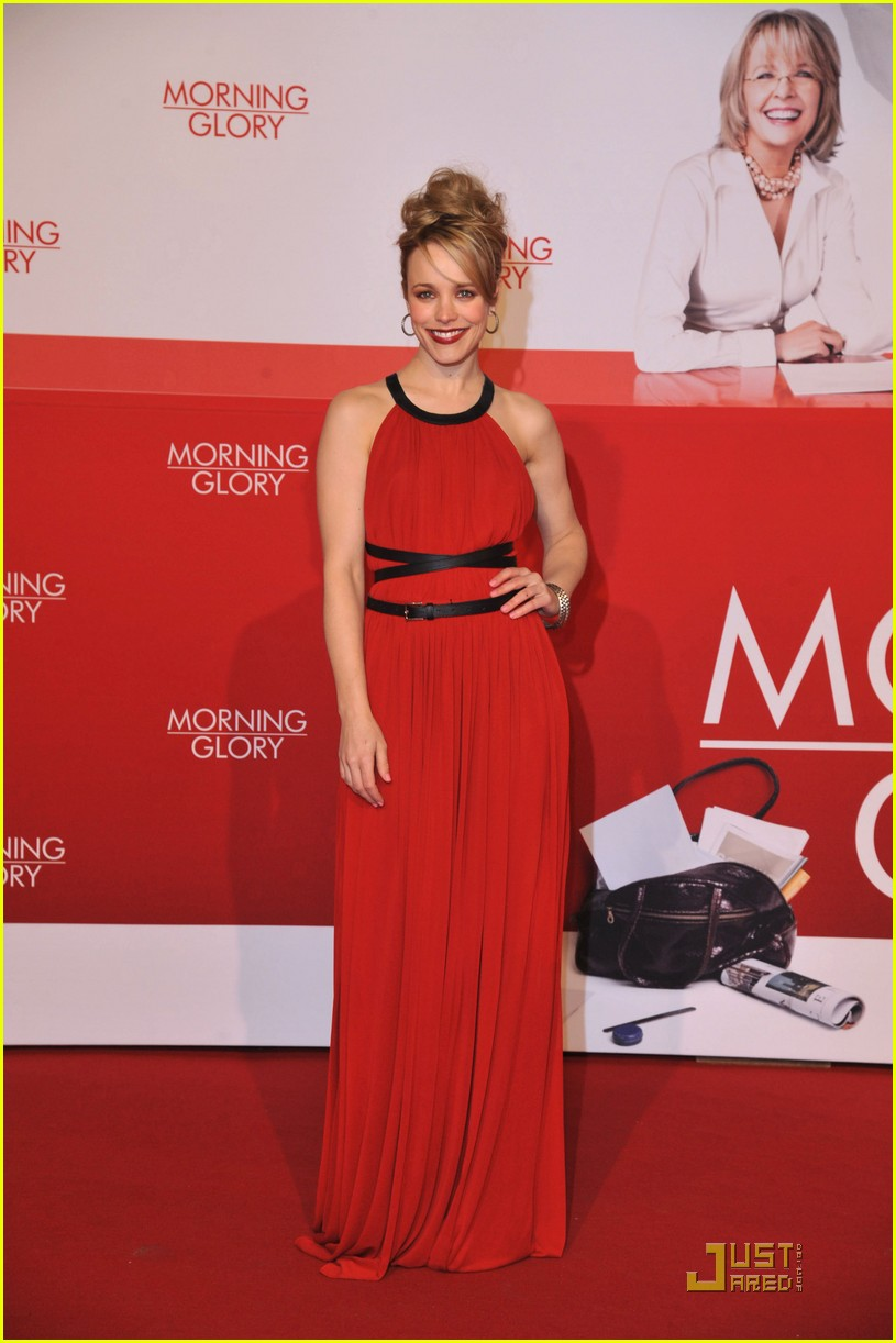 rachel mcadams morning glory premiere 05