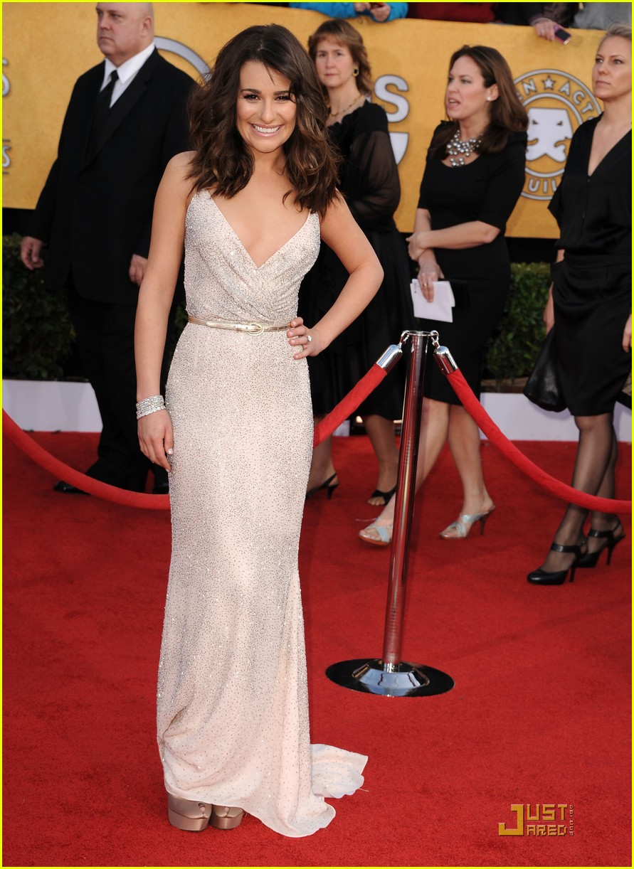 lea michele sag awards 03