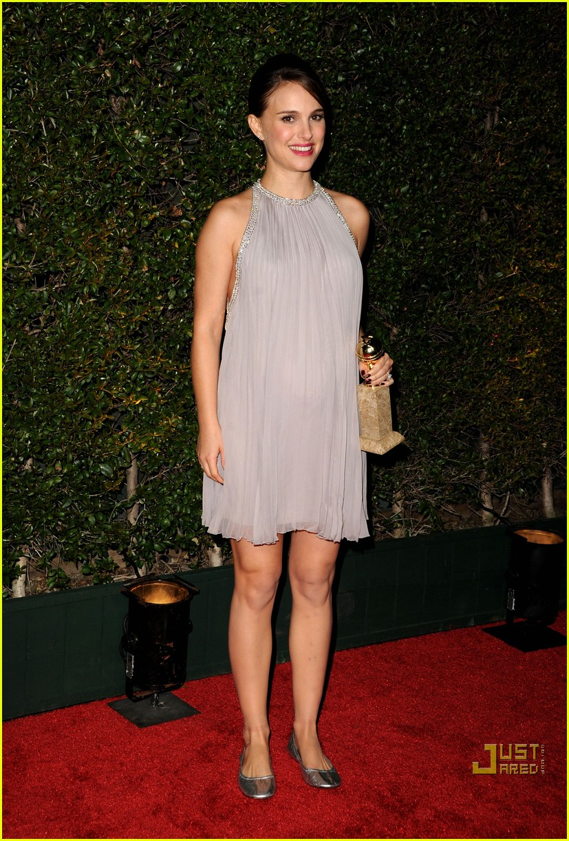 natalie portman fox searchlight golden globes party 01