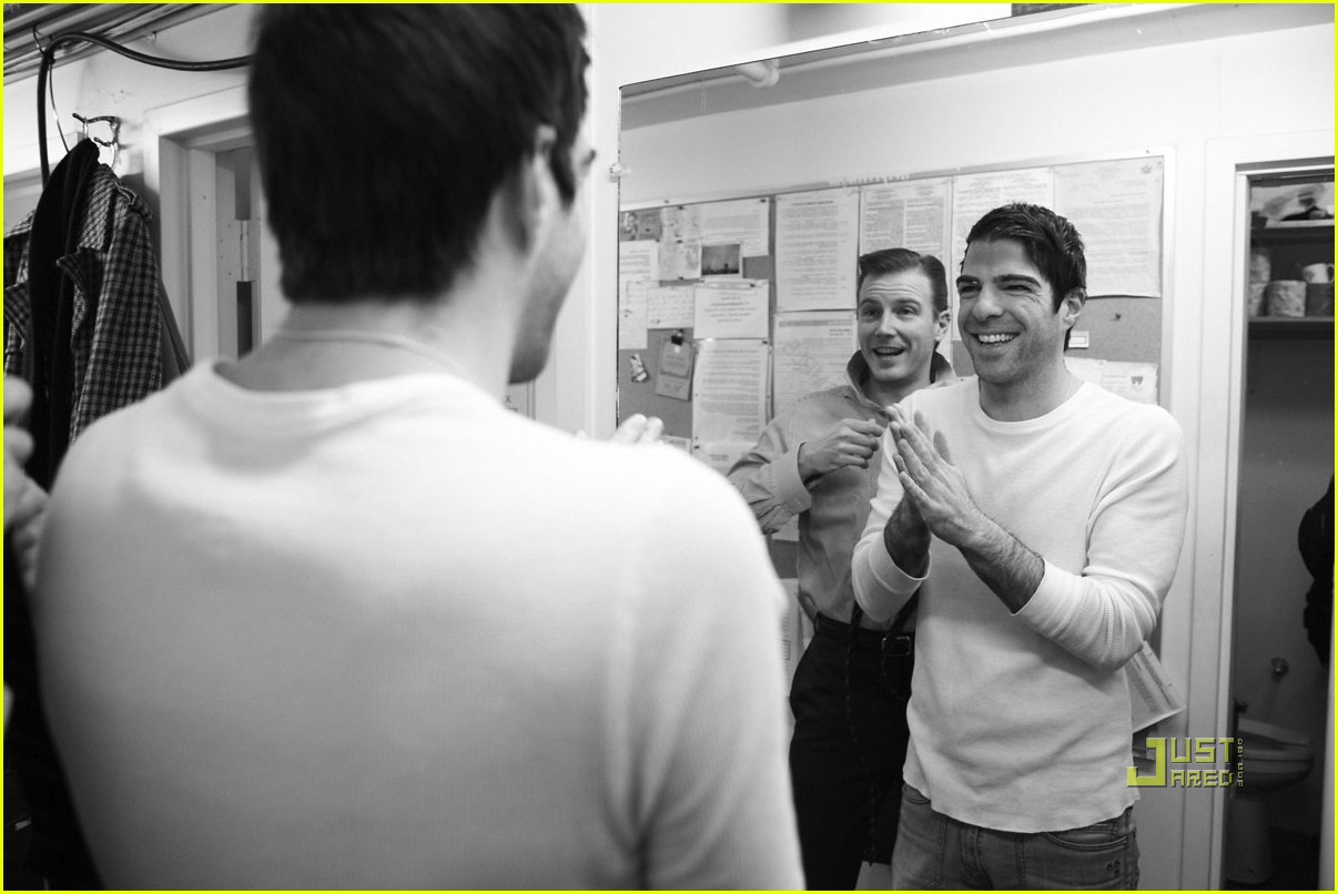 zachary quinto backstage angels america 03
