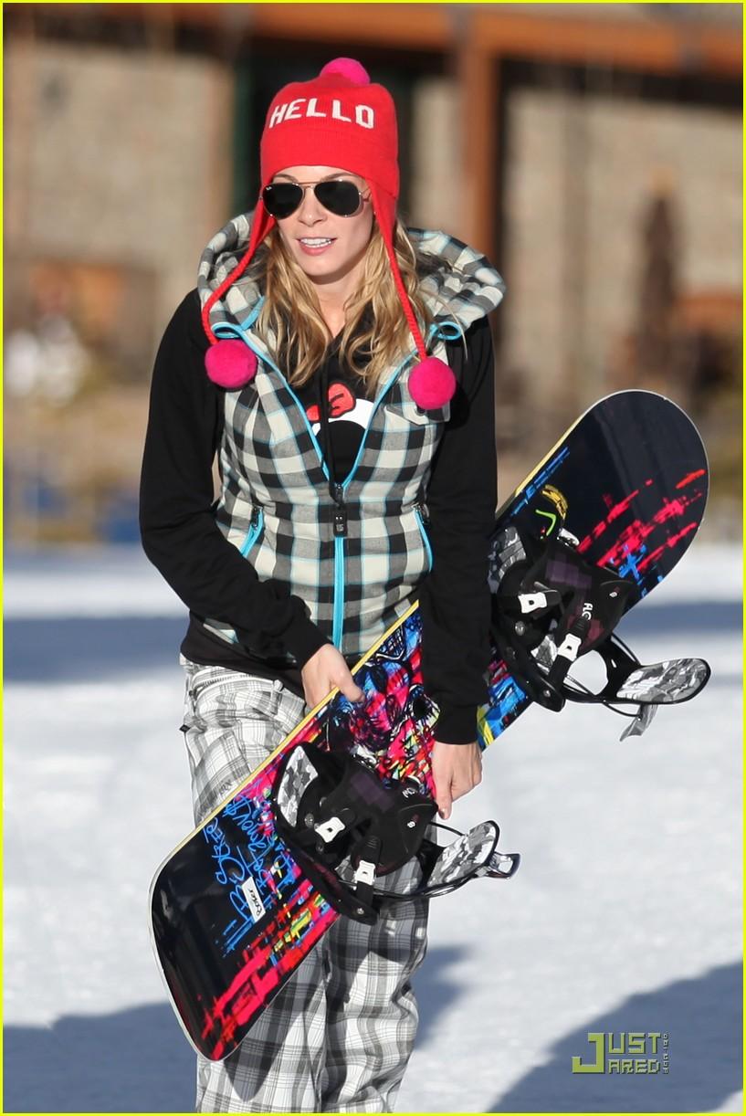 leann rimes eddie cibrian snowboarding 03