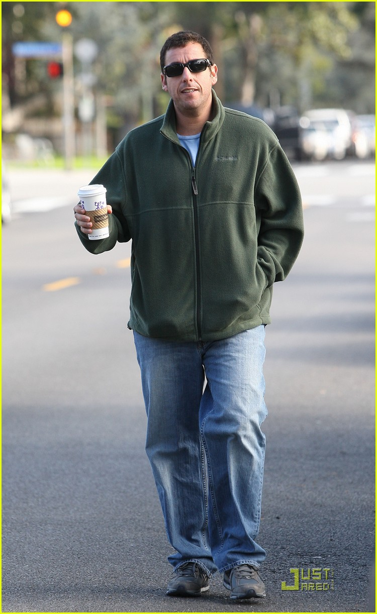 adam sandler strolling with sadie sunny 03