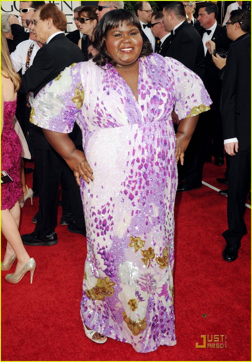 gabourey sidibe golden globes 2011 03
