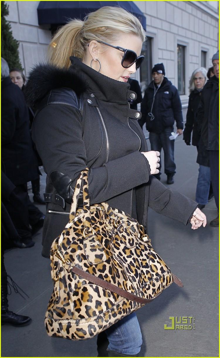 jessica simpson leopard print bag nyc 102508338