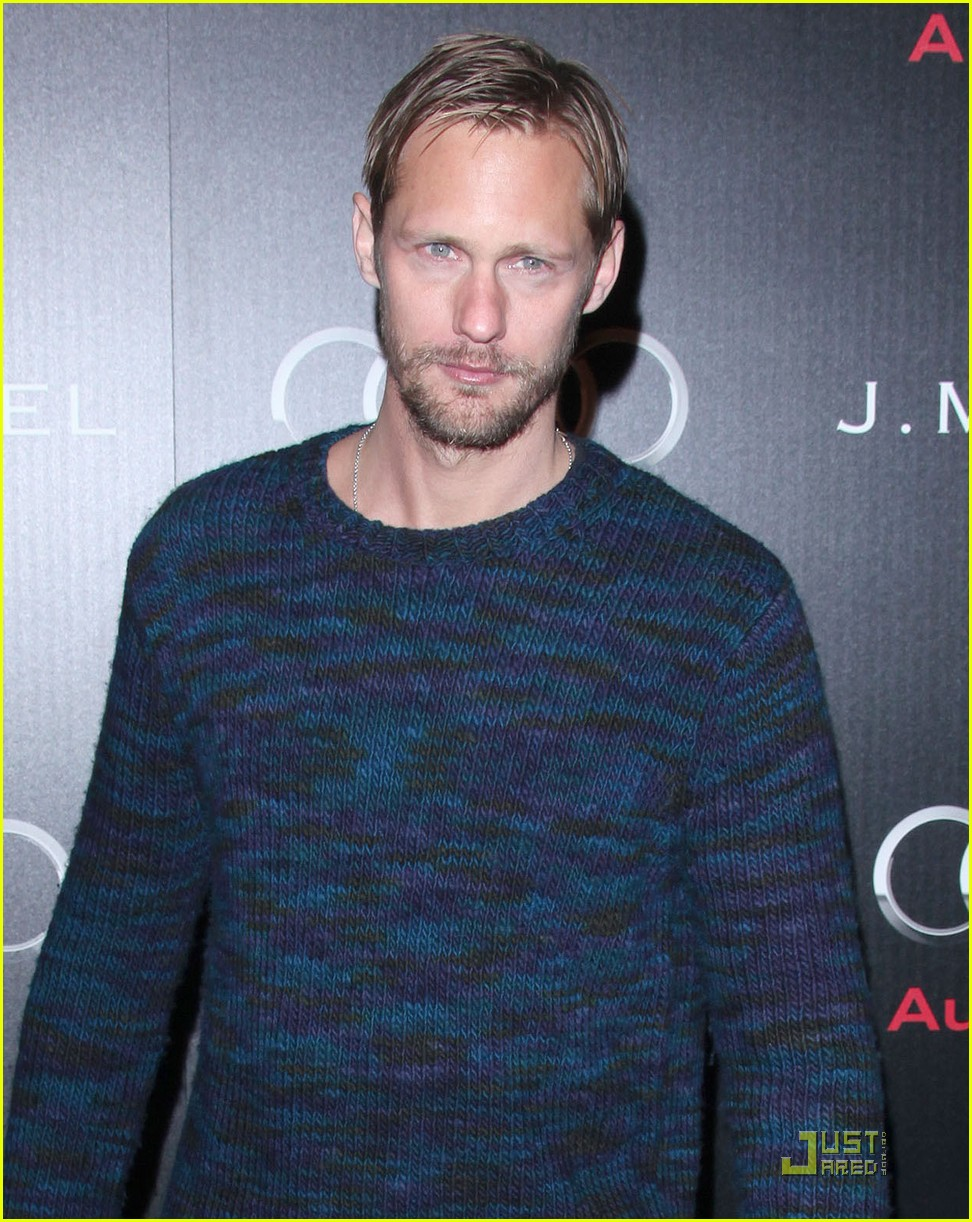 alexander skarsgard audi golden globe party 072509763