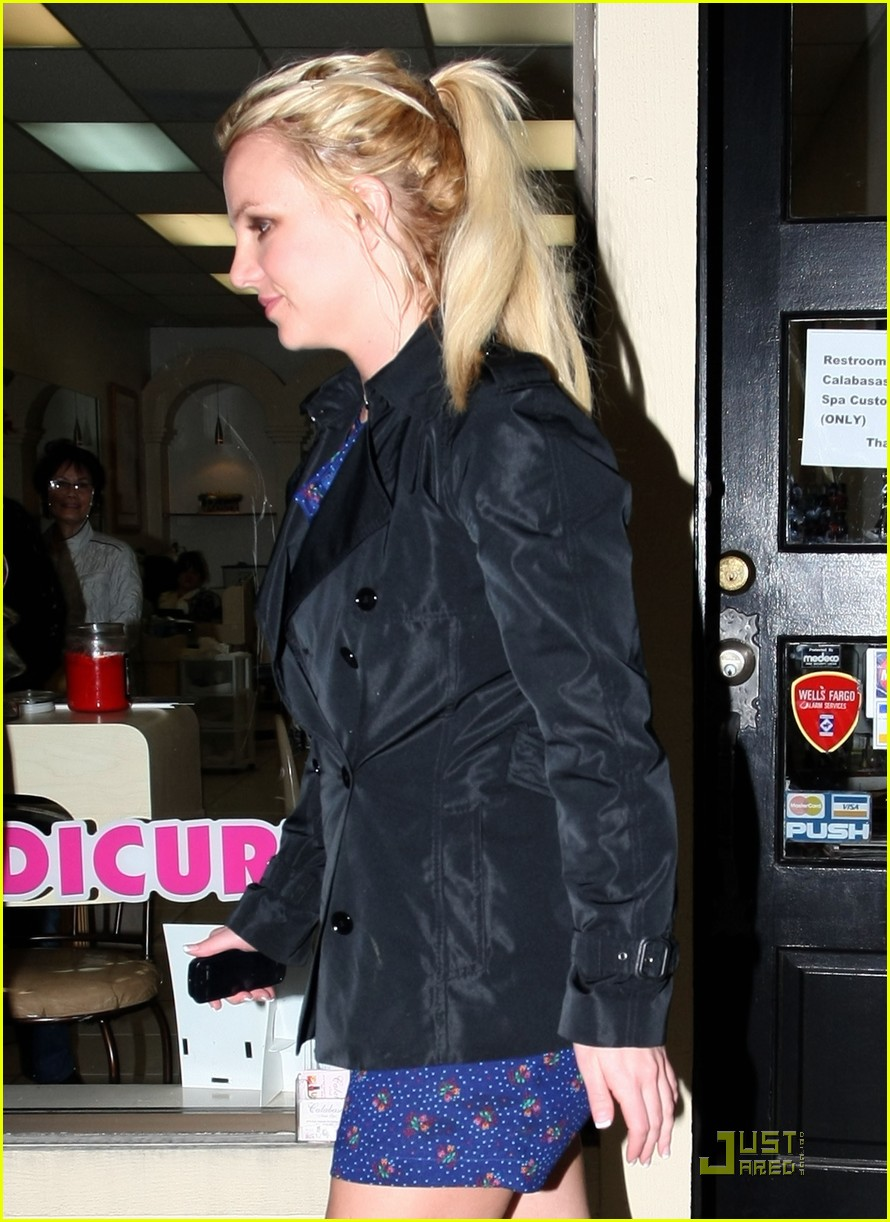 britney spears studio and salon day 10
