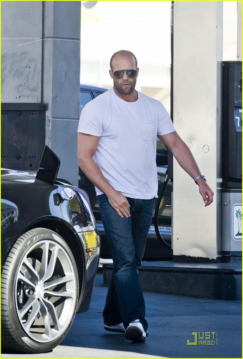 Full Sized Photo Of Jason Statham Aston Martin Man 05 Photo 2513048 Just Jared