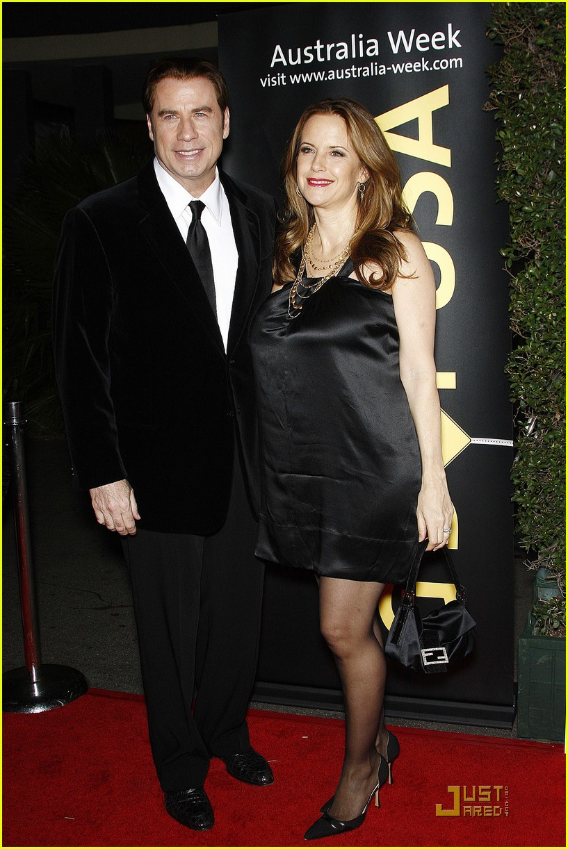 john travolta kelly preston gday gala 05