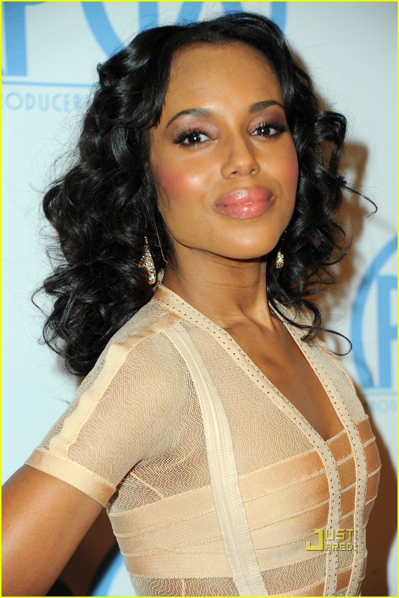 kerry washington helen mirren producers guild awards 01