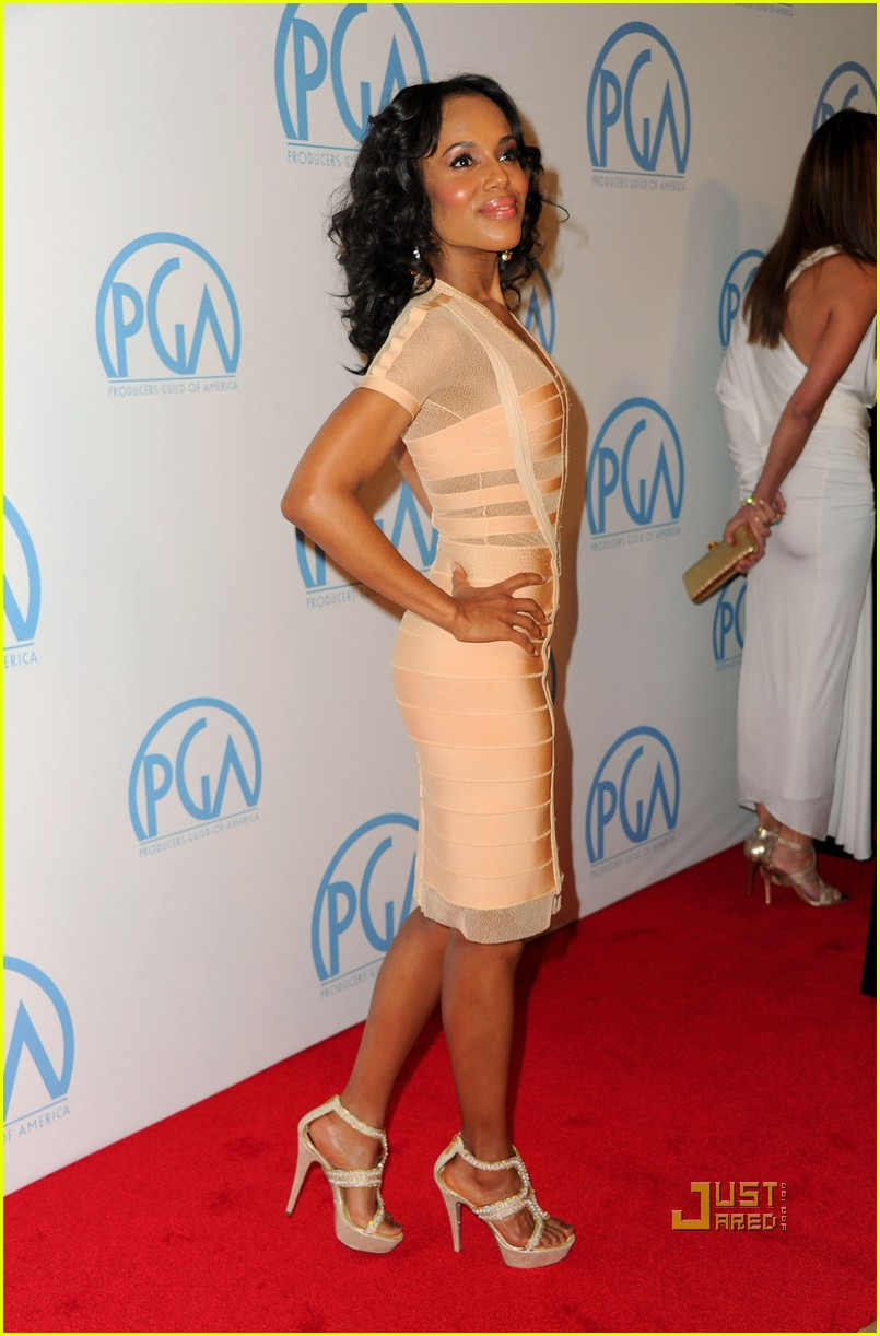 kerry washington helen mirren producers guild awards 09