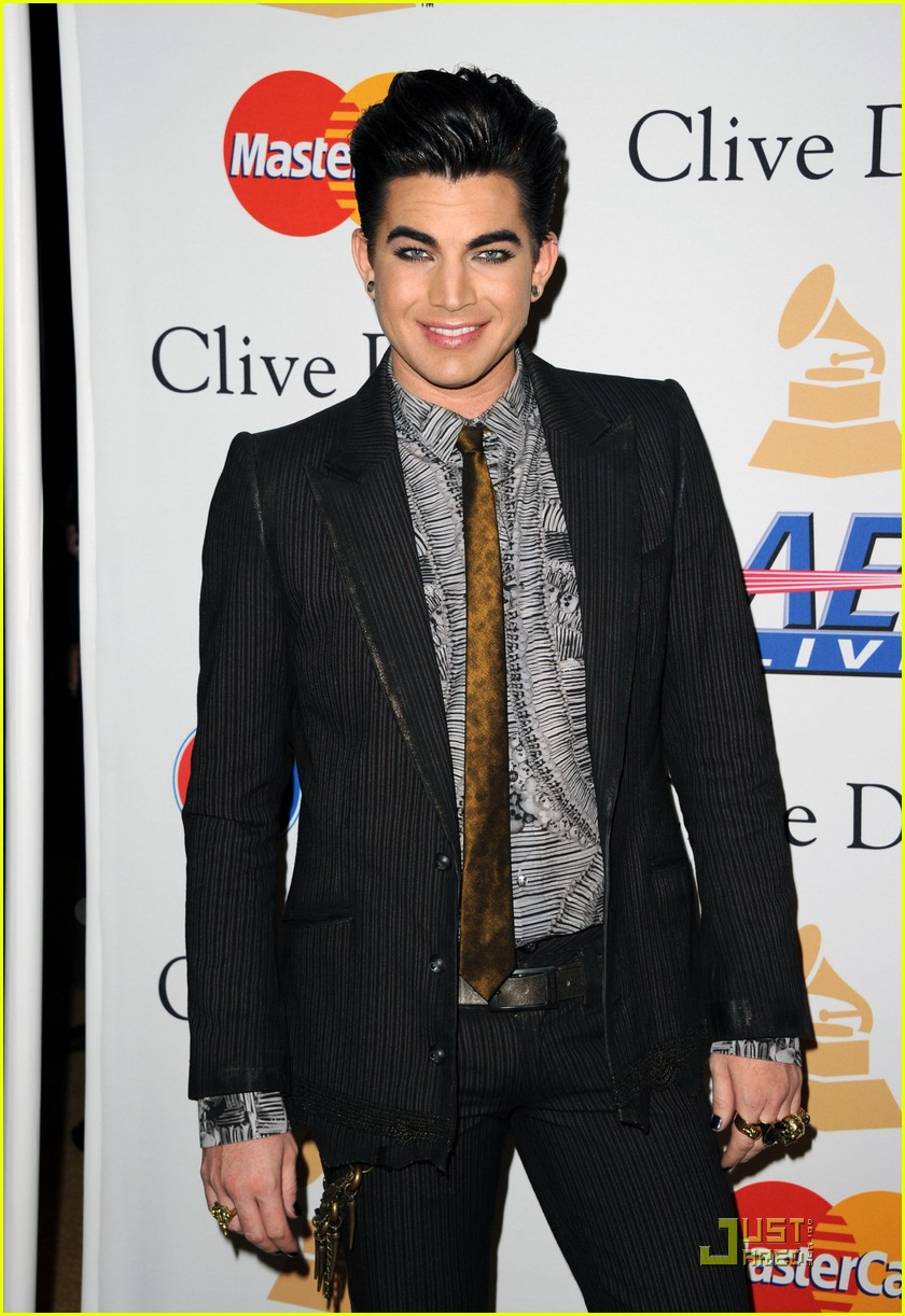 adam lambertpre grammy gala salute to industry icons 06