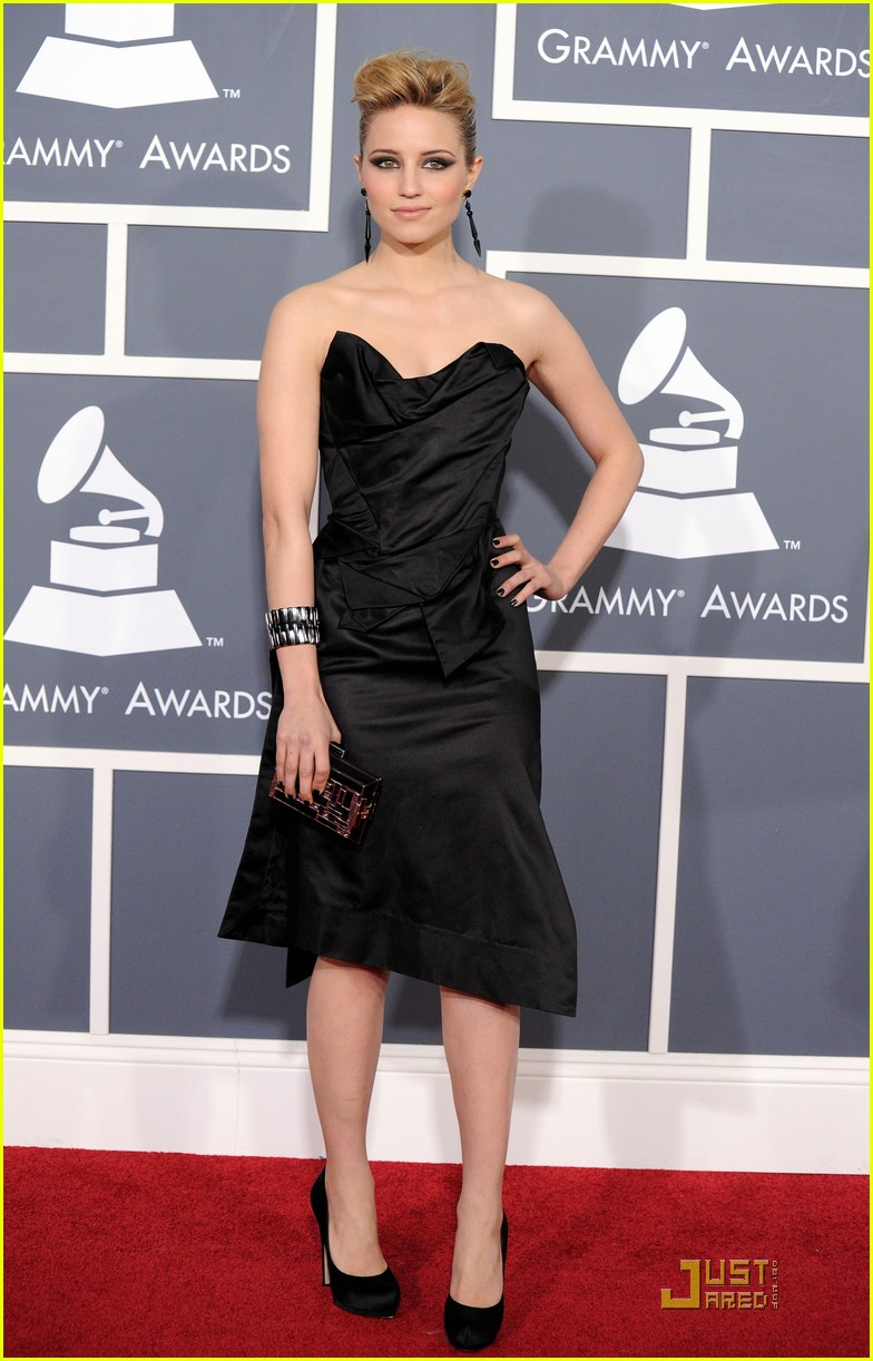 dianna agron grammys 05