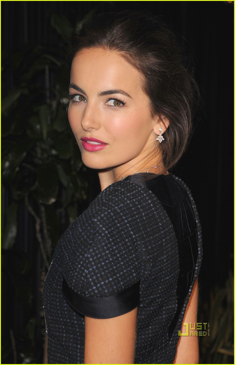 camilla belle chanel charles finch preoscar dinner 102523416