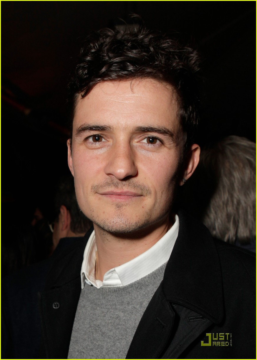 Full Sized Photo Of Orlando Bloom Colin Firth Audi Party