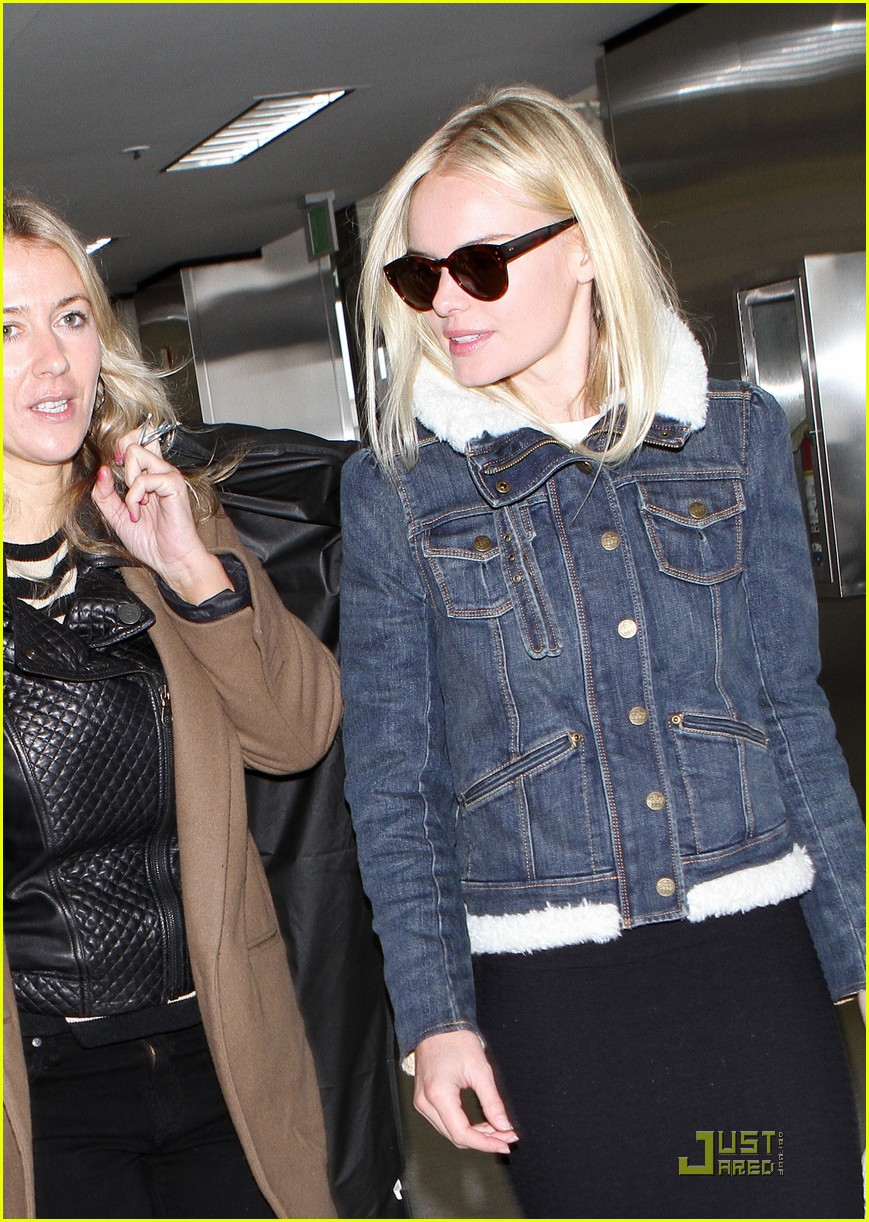 kate bosworth en route to fashion week 09