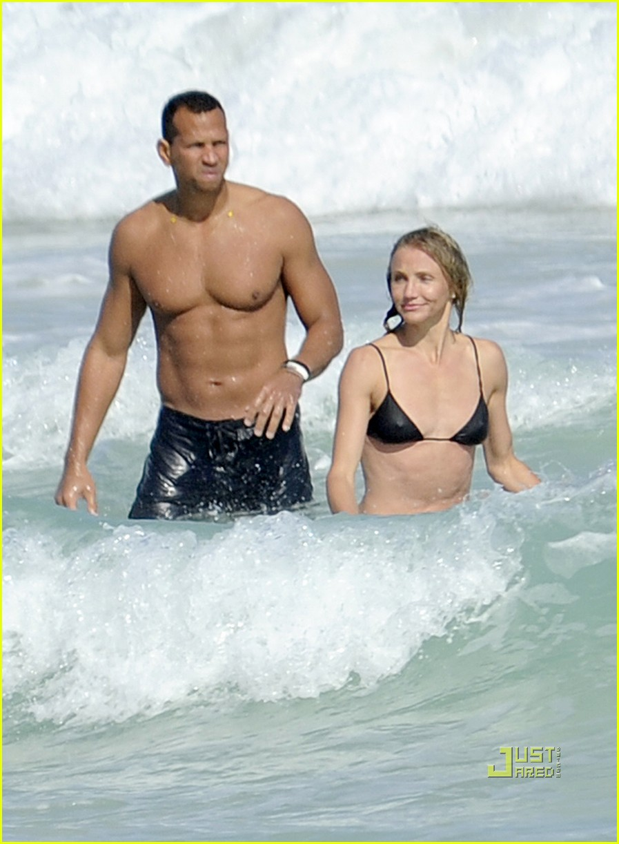 cameron diaz alex rodriguez bikini shirtless 03