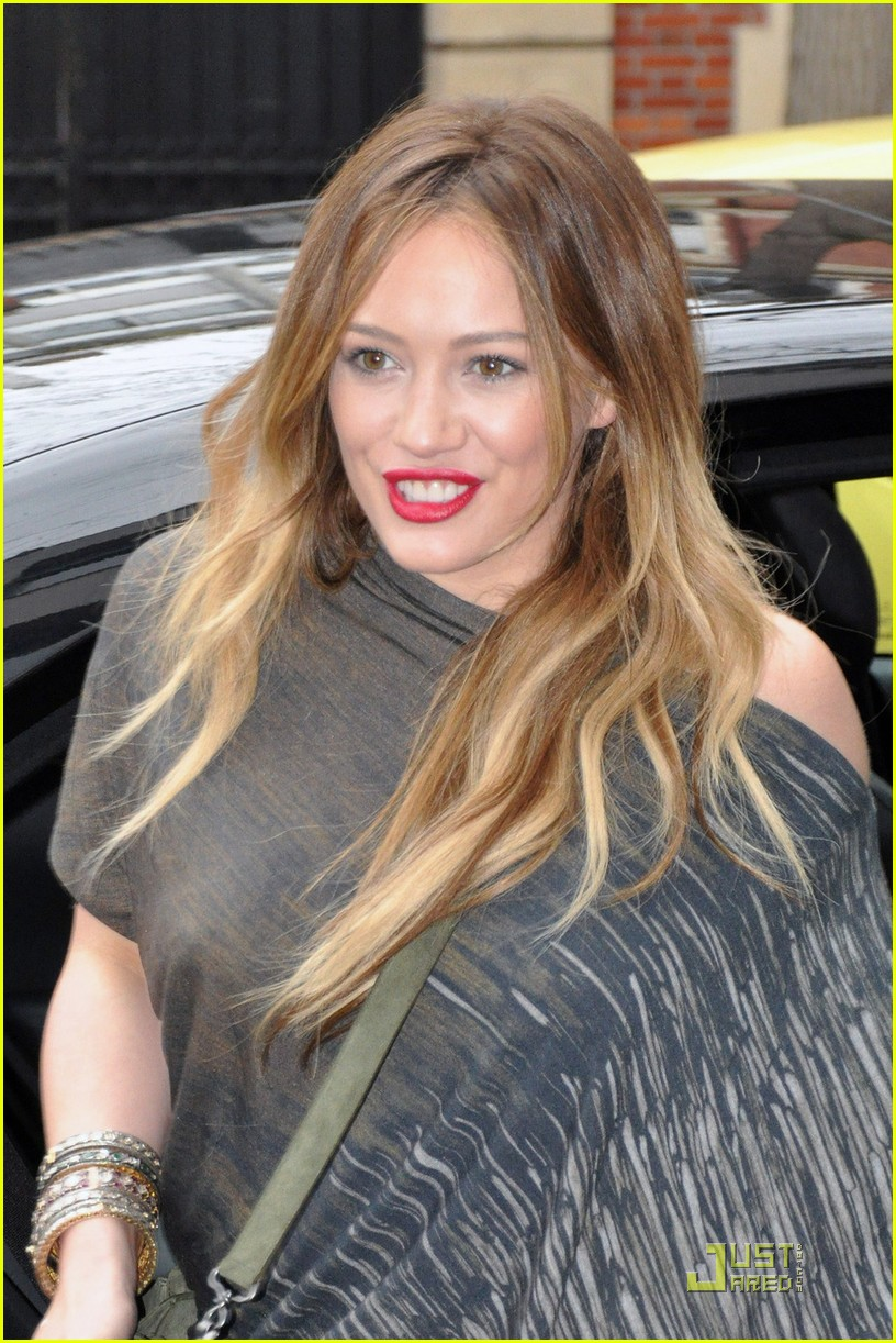 Full Sized Photo of hilary duff paris promo tour continues 06 | Photo ...