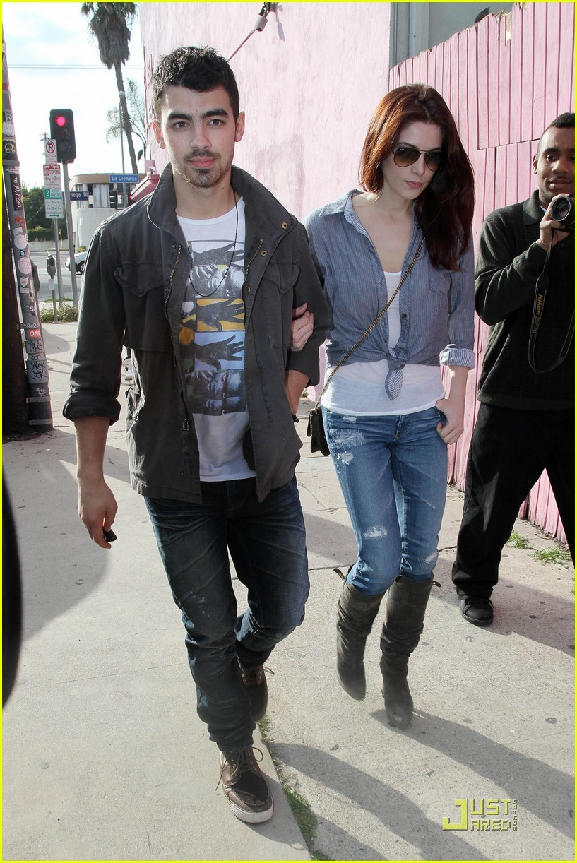 ashley greene joe jonas afternoon lovers 02