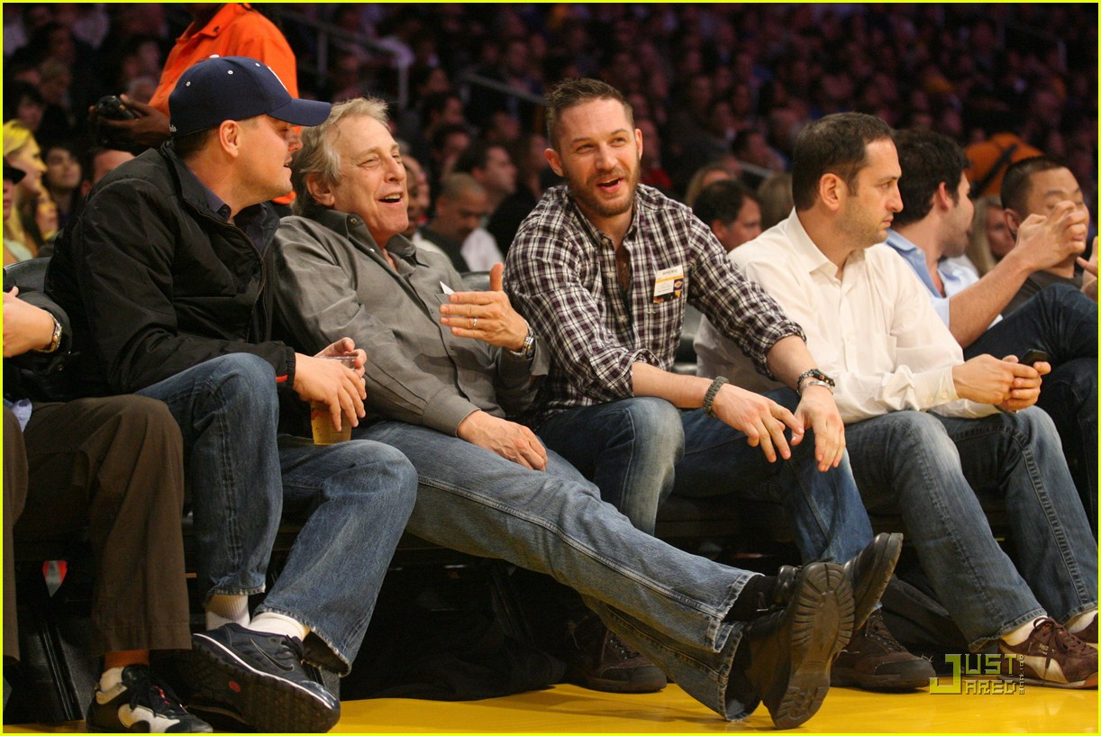 tom hardy lakers game 01