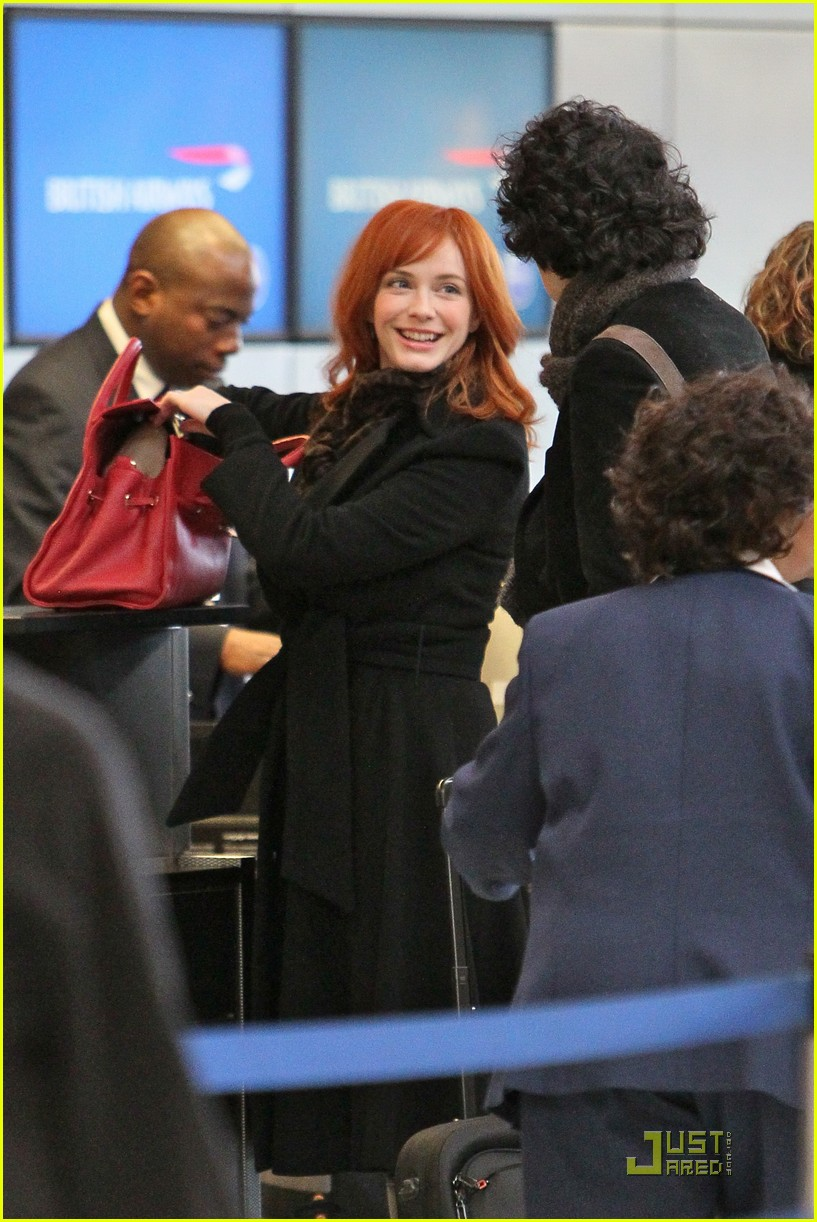 christina hendricks four eyed flight 07