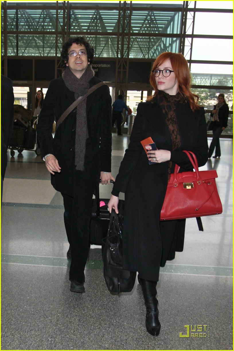 christina hendricks four eyed flight 08