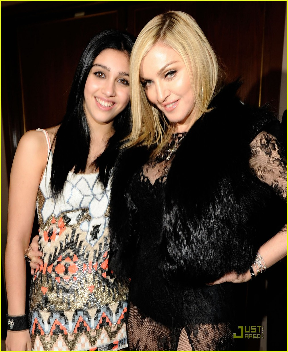 madonna lourdes leon vanity fair oscar party 09