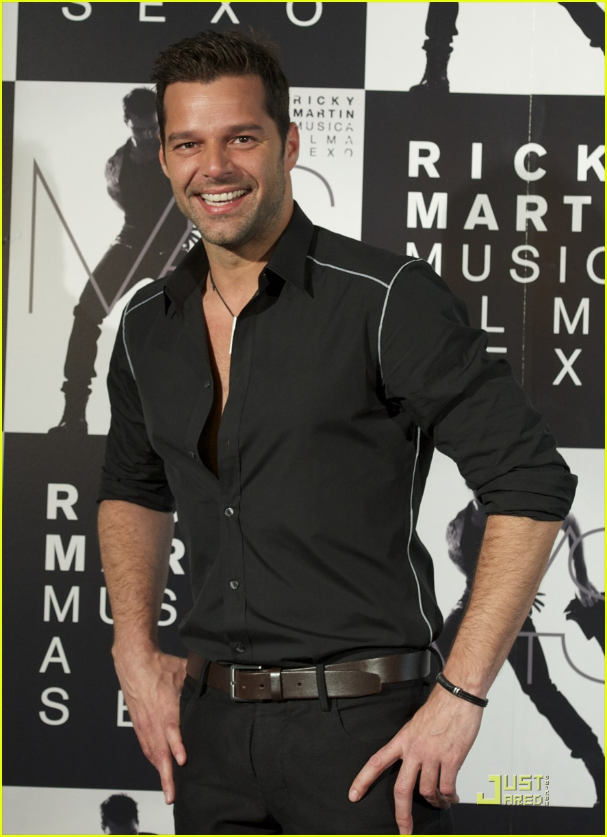 ricky martin mas in madrid 09