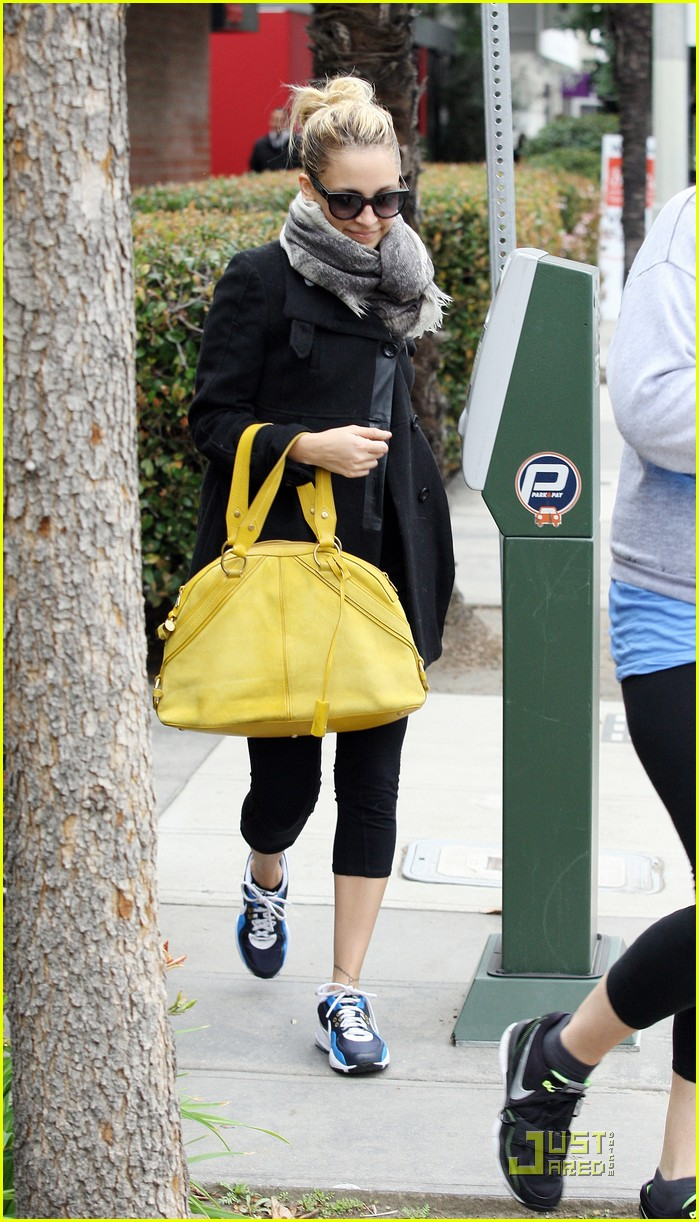 nicole richie happy workout woman 10