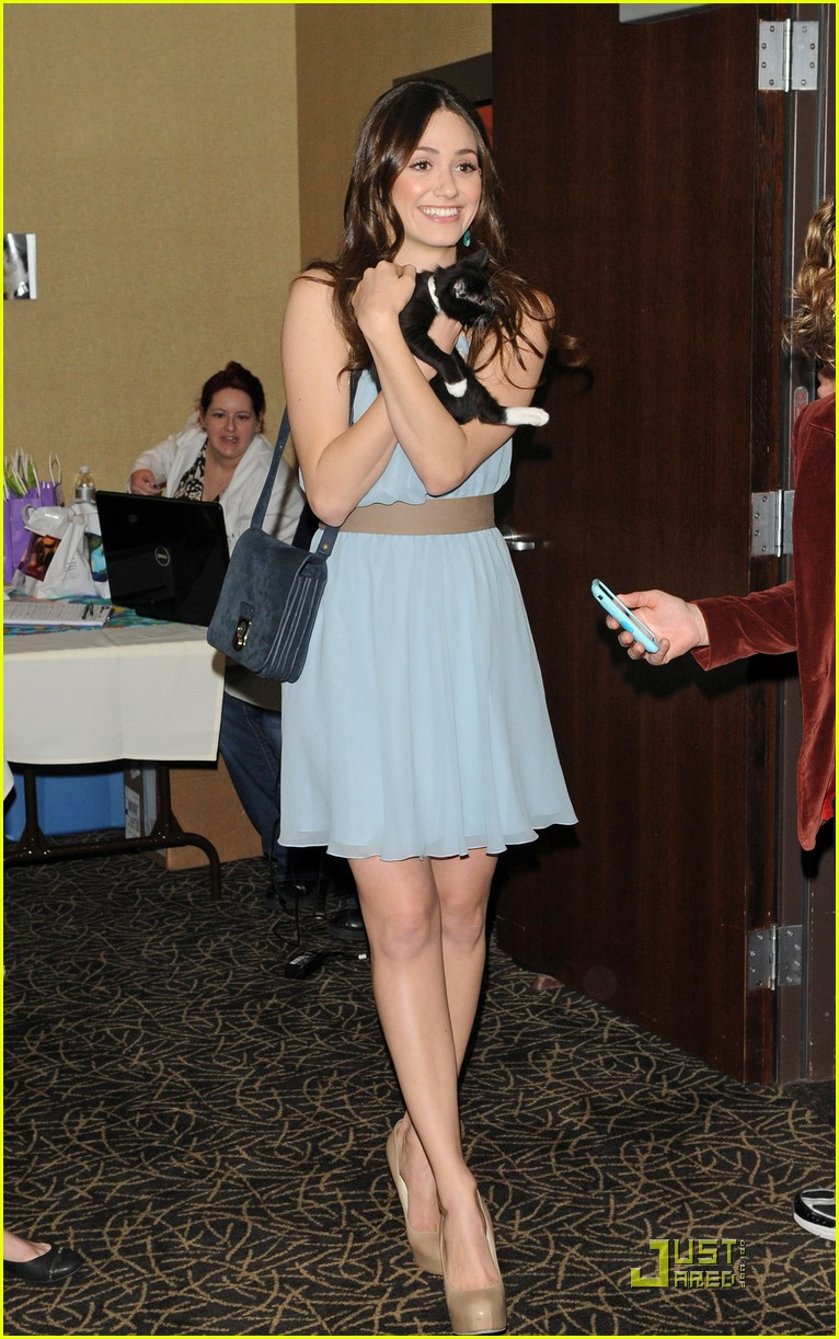 emmy rossum adopt a cat 07