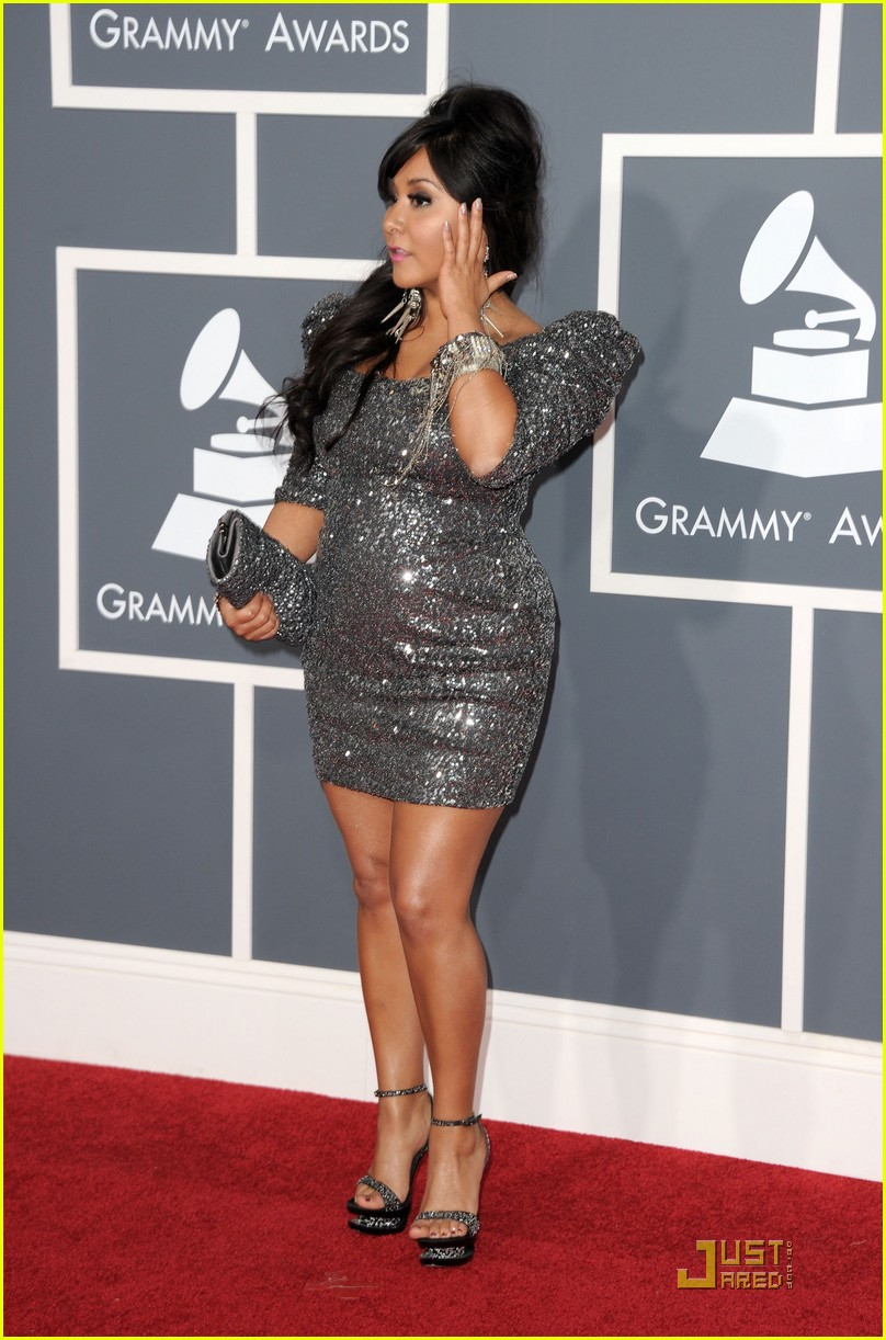 snooki situation grammys red carpet 11