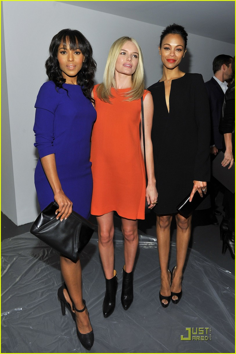 kerry washington zoe saldana calvin klein show 05