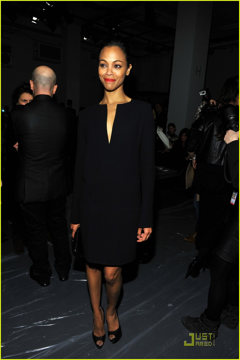 kerry washington zoe saldana calvin klein show 09