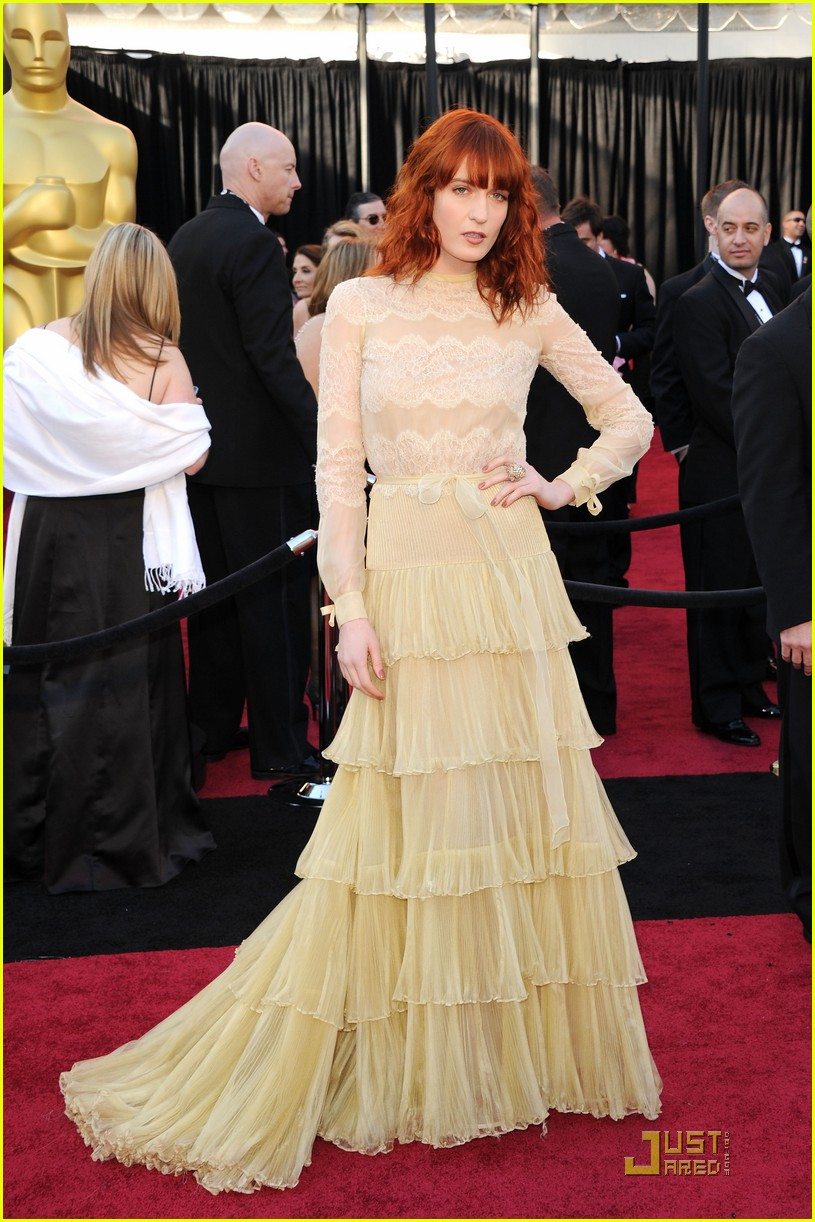 florence welch oscars 2011 01